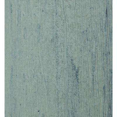 15/16 in. x 5.36 in. x 2 ft. Capped Composite Decking Board Sample in Silver Maple
