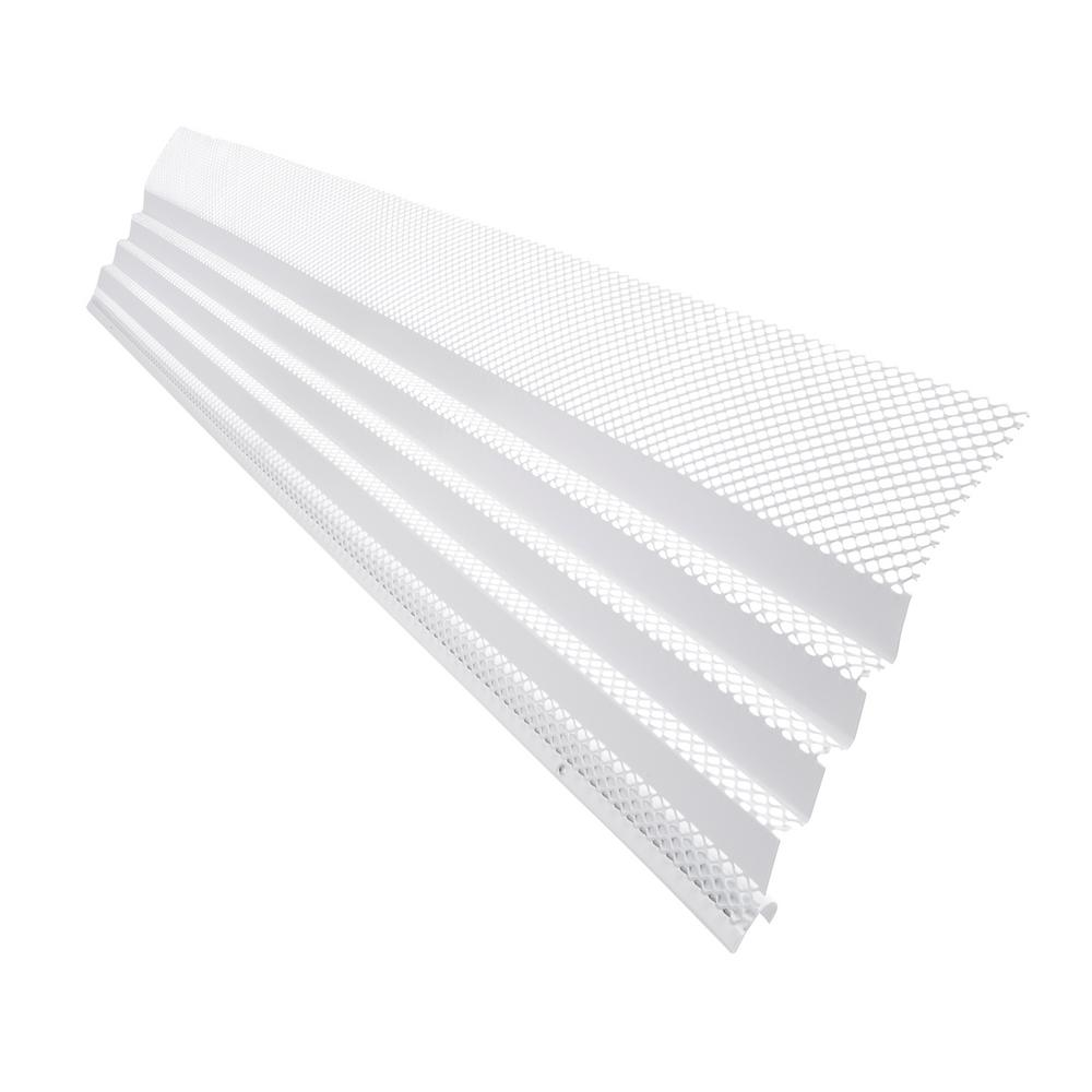 Amerimax Home Products Hoover Dam 3 Ft White Gutter Guard