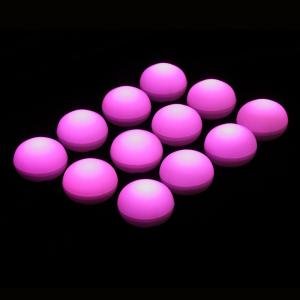 1.25 in. D x 0.875 in. H x 1.25 in. W Pink Floating Blimp Lights (12-Count)