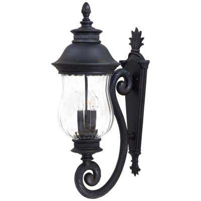 Newport 3-Light Heritage Outdoor Wall Lantern Sconce