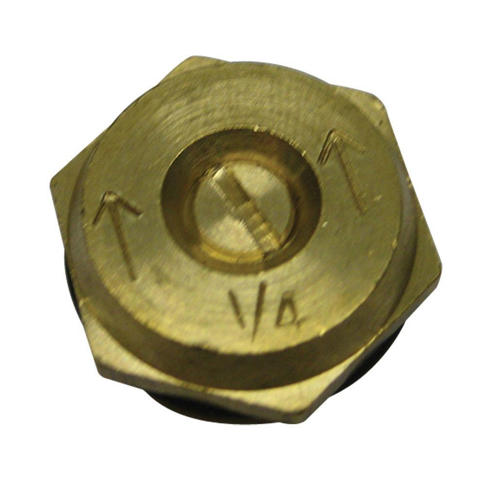 1/4 Pattern Brass Insert (2-Pack)