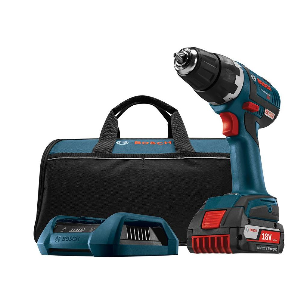 18 Volt Lithium-Ion Cordless 1/2 in. Variable Speed Brushless Compact Tough