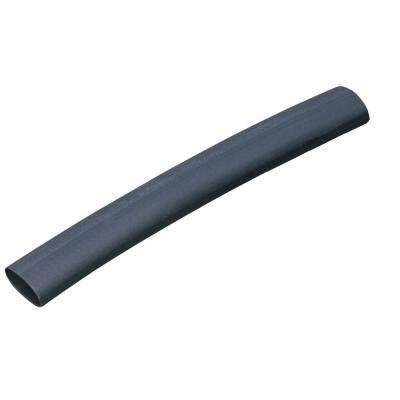 3/4 in. Black Polyolefin Heat Shrink Tubing (2-Pack)