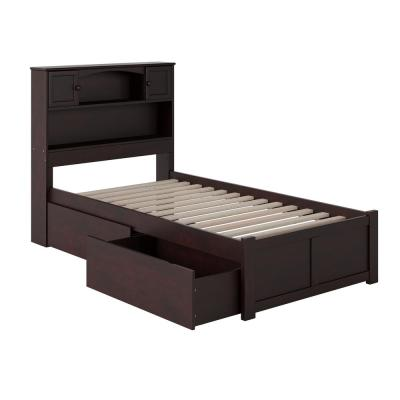 Twin Xl Bookcase Headboard Beds Bedroom Furniture The Home