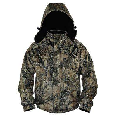 Men's Large Camouflage Insulated Jacket