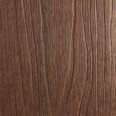 Naturale Magellan Series 1 in. x 5-1/2 in. x 0.5 ft. Brazilian Ipe Composite Decking Board Sample with Groove