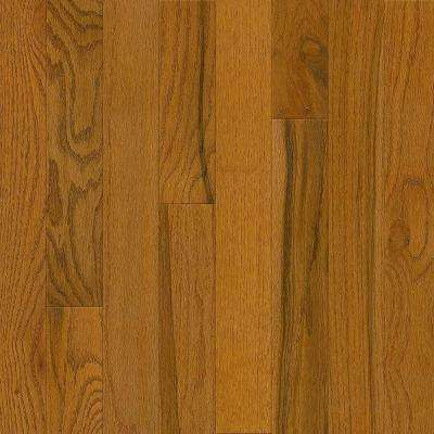 Plano Oak Gunstock 3/4 in. Thick x 3-1/4 in. Wide x Varying Length Solid Hardwood Flooring (352 sq. ft. / pallet)