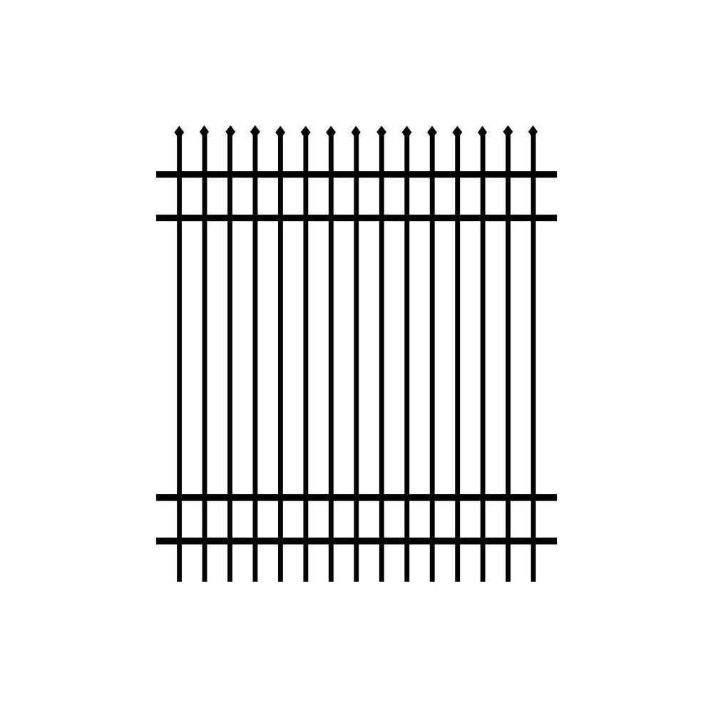 Simtek 6 Ft H X 6 Ft W Ecostone Gray Composite Fence