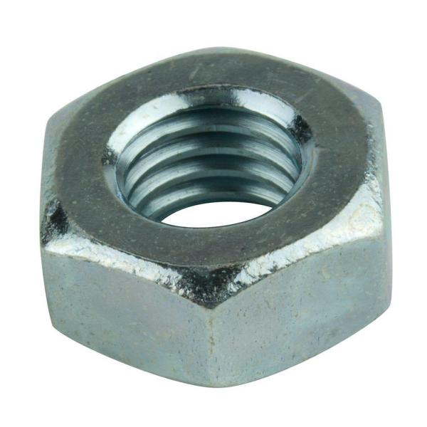 M2-0.4 Zinc-Plated Metric Hex Nut (5-Piece per Bag)