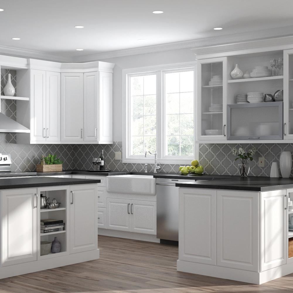 Slab Door Kitchen Cabinets, White Slab Kitchen Cabinet Doors