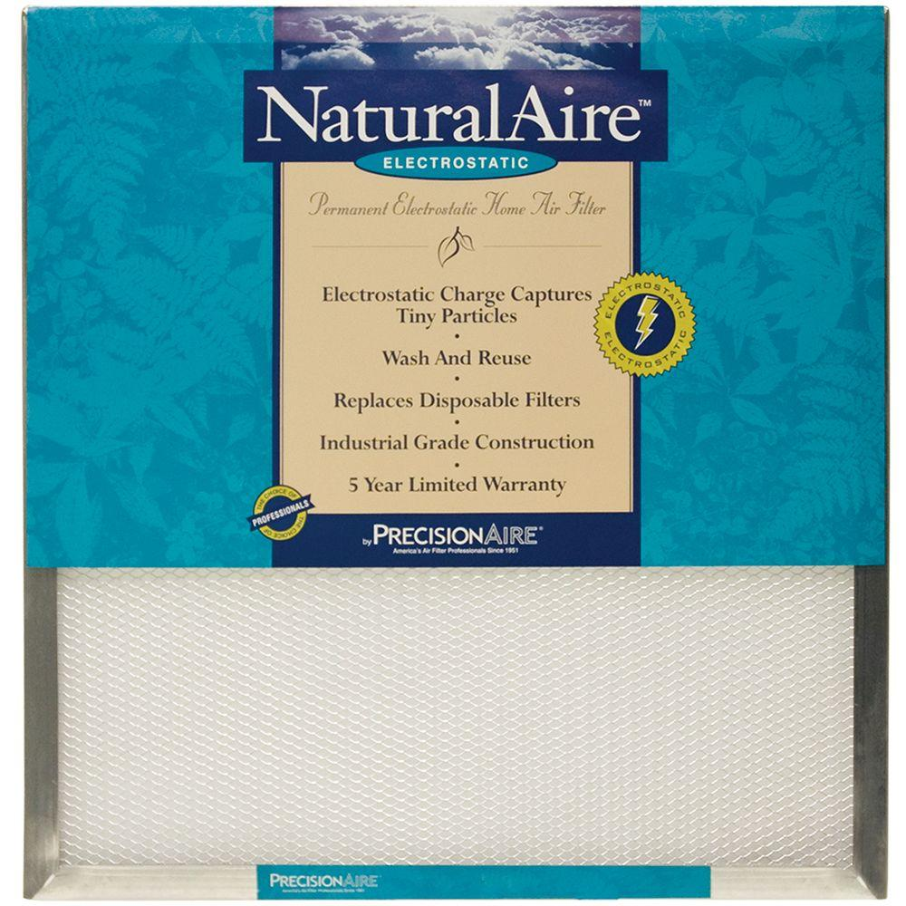 null 24 in. x 24 in. x 1 in. Electrostatic Pleated Air Filter (Case of 6)