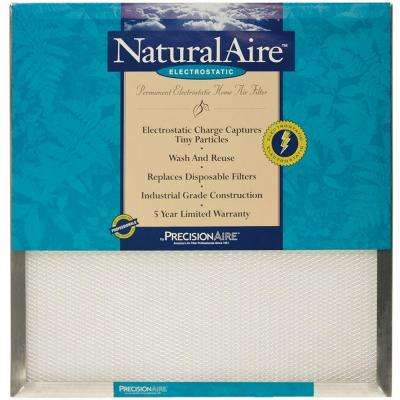 1 in. Depth Electrostatic Pleated Air Filter (Case of 6)