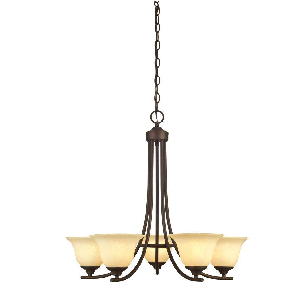 Westinghouse Kings Canyon 5-Light Oil Rubbed Bronze Chandelier