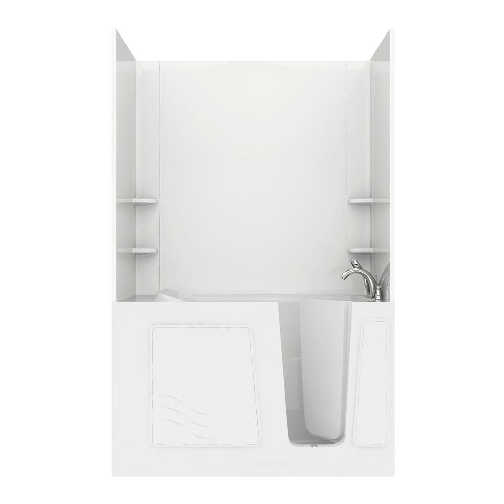 Universal Tubs Rampart 5 Ft. Walk-in Whirlpool And Air
