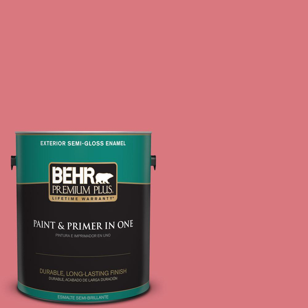 1-gal. #P160-4 Juicy Details Semi-Gloss Enamel Exterior Paint