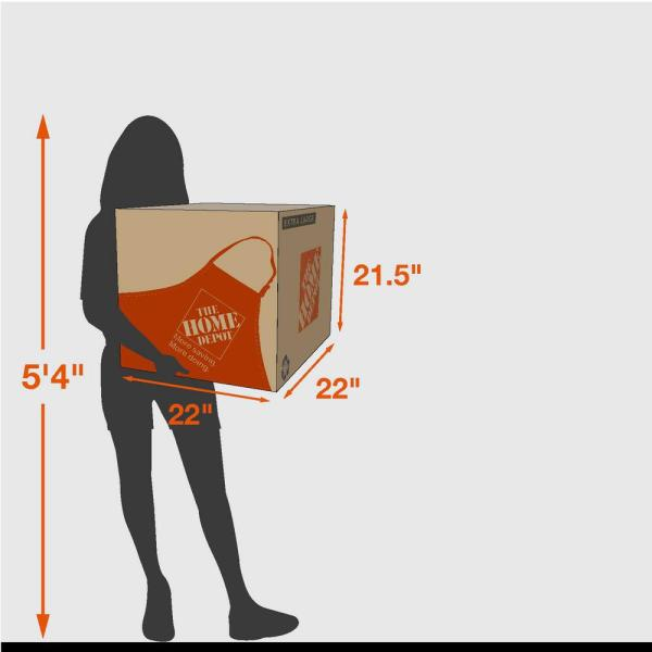 Reviews For The Home Depot Extra Large Moving Box 10 Pack 22 In L X 22 In W X 21 In D 713644 The Home Depot