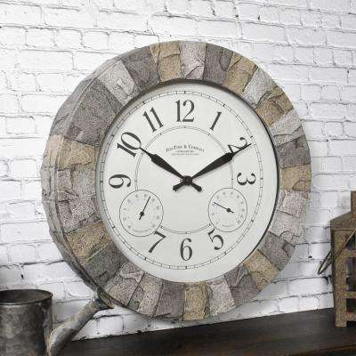 Stoneybrook Outdoor Clock