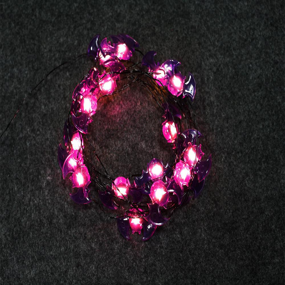 Lighted Length With 18 Light Bat Shaped Led Ultra Wire 6 Pack