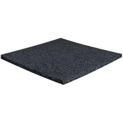 Charcoal 1 in. x 24 in. x 24 in. Acoustic Insulation Panels (8-Piece)
