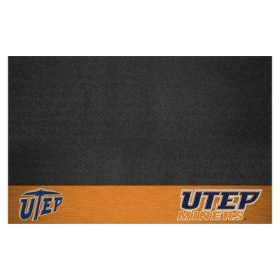 NCAA 26 in. x 42 in. UTEP Grill Mat