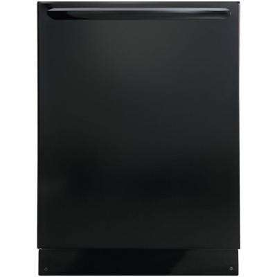 Top Control Built-In Dishwasher with OrbitClean Spray Arm in Black, ENERGY STAR, 52 dBA
