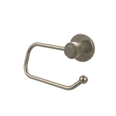Mercury Collection European Style Single Post Toilet Paper Holder in Antique Pewter