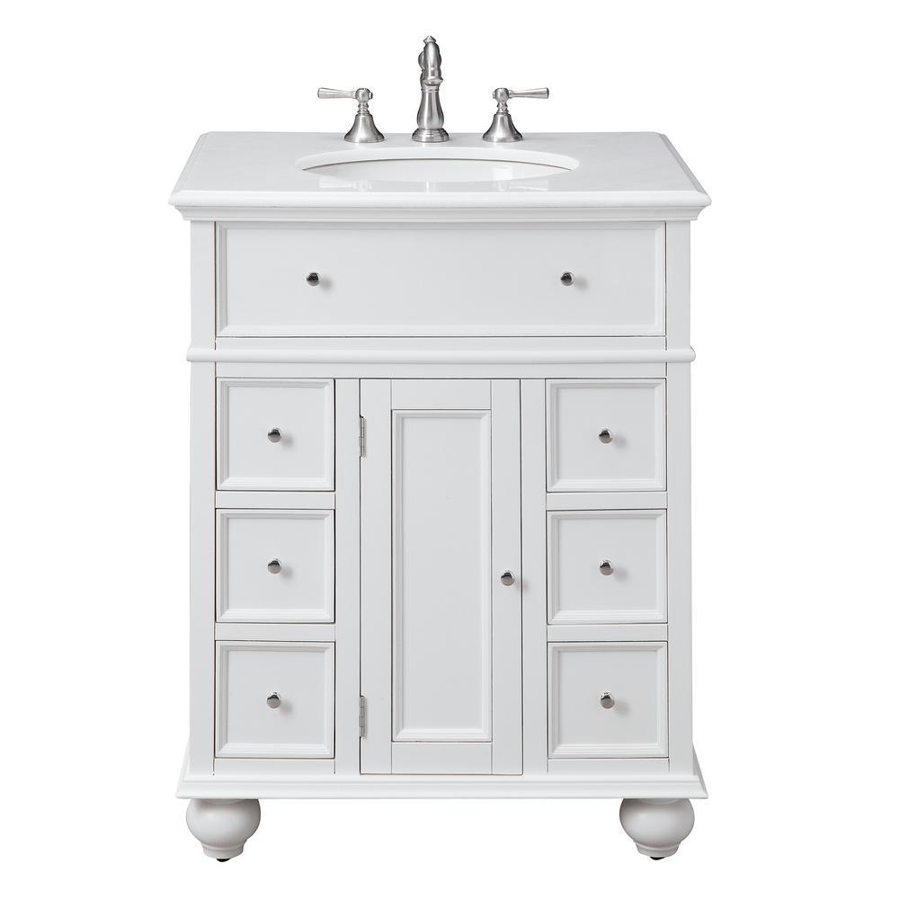 Home Decorators Collection Hampton, 22 Inch Bathroom Vanities