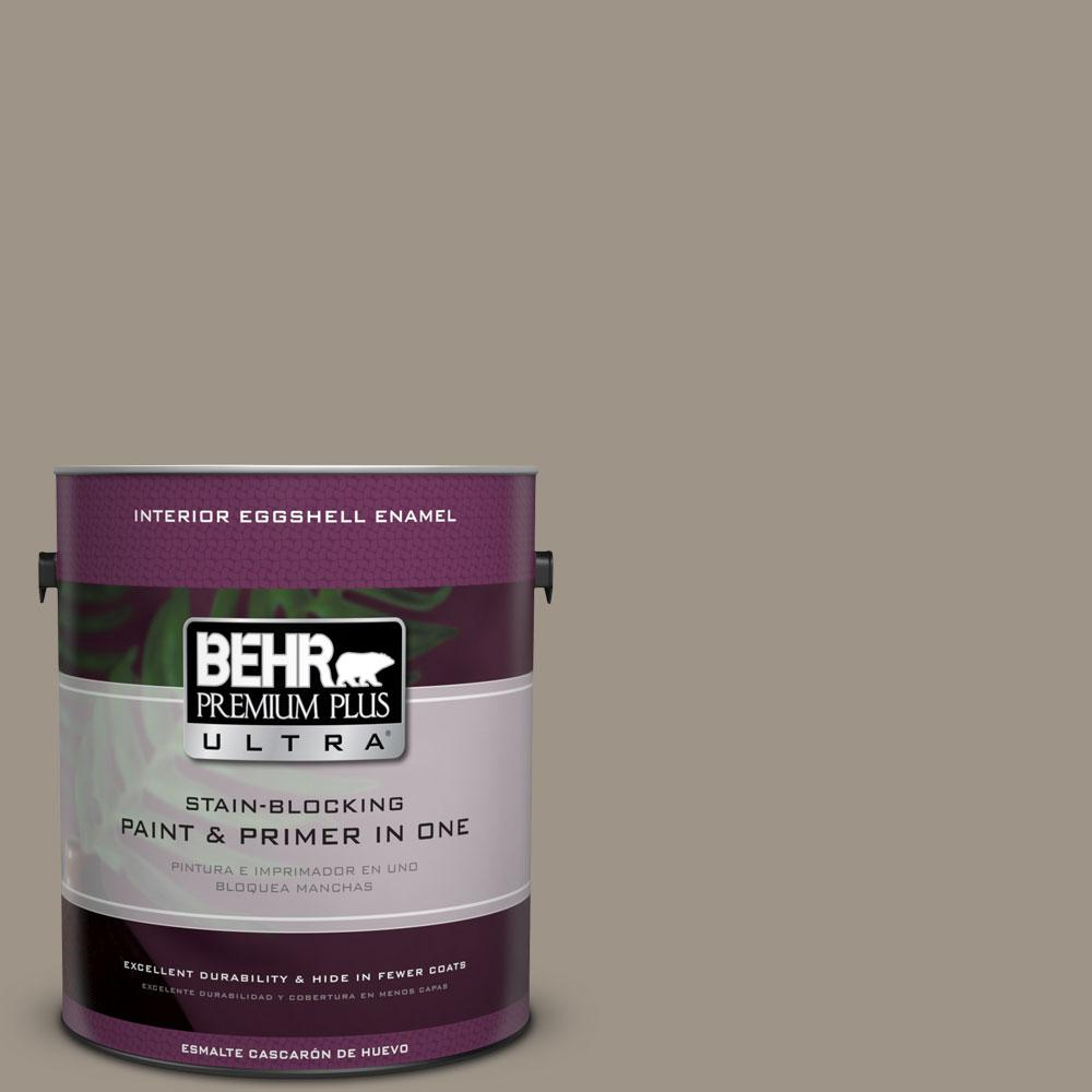 BEHR Premium Plus Ultra Home Decorators Collection 1-gal. #HDC-CT-20 Greywood Eggshell Enamel Interior Paint