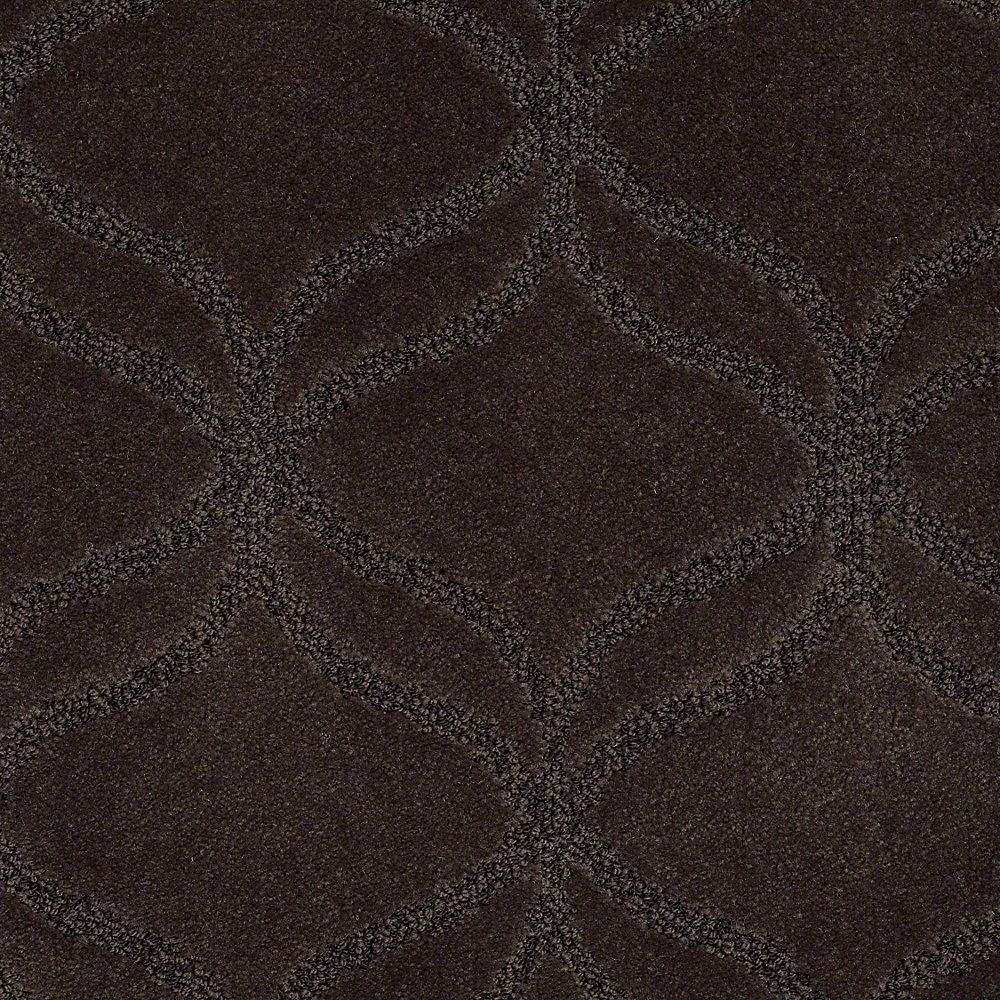 Carpet Sample - Kensington - In Color Tree Stump 8 in. x 8 in.