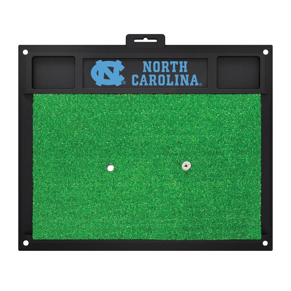 NCAA University of North Carolina - Chapel Hill 17 in. x 20 in. Golf Hitting Mat