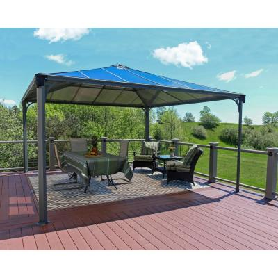 Palermo 4300 14 ft. x 14 ft. Aluminum Frame and Hard Top Gazebo