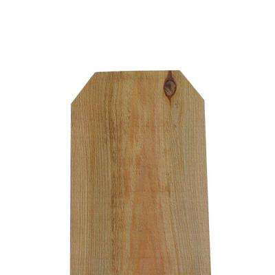 ConCom 11/16 in. x 11-1/2 in. x 5 ft. Redwood Dog Ear Fence Picket