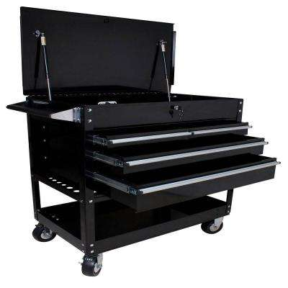 Professional Cart Black 4-Drawer