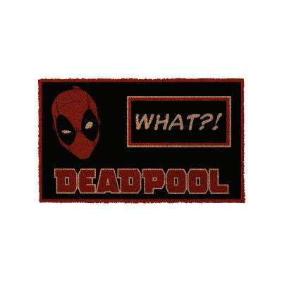 Deadpool - What 17 in. x 29 in. Door Mat