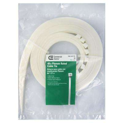 48 in. Natural Heavy Duty Cable Tie (15-Pack)