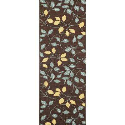 Hamam Collection Brown 2 ft. x 5 ft. Runner Rug