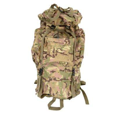 65 l Waterproof Outdoor Tactical 9 in. Camouflage Backpack