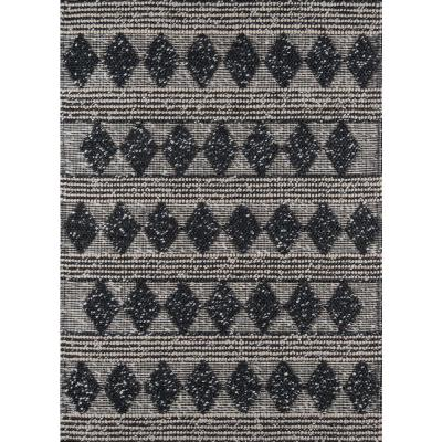 Andes Charcoal 3 ft. X 5 ft. Indoor Area Rug