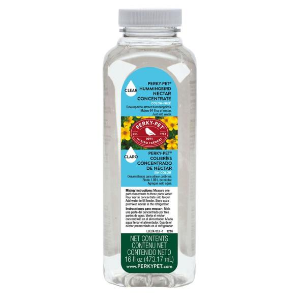 16 oz. Clear Hummingbird Nectar Concentrate