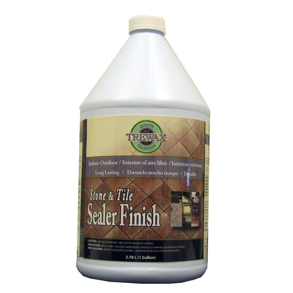 Trewax 1 gal stone and tile indoor and outdoor floor sealant finish stone and tile indoor and outdoor floor sealant finish 887171970 the home depot dailygadgetfo Images