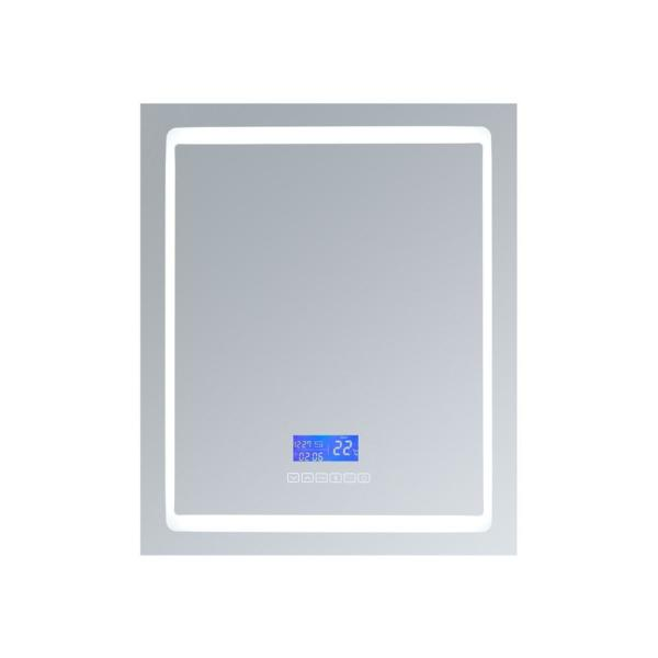 Bracciano 30 in. W. x 36 in. H. Recessed or Surface-Mount LED Medicine Cabinet with Defogger