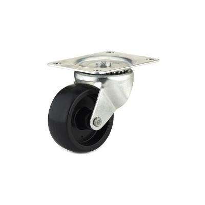 2-15/16 in. black Swivel Without Brake plate Caster, 209.5 lb. Load Rating