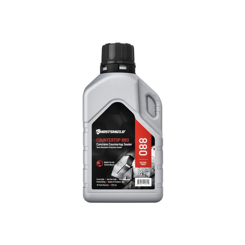 Ghostshield 16 Oz Concrete Countertop Water And Stain Repellent