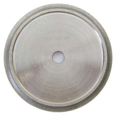 6 in. x 3/8 in. Demi Bull Nose Profile Wheel for Tile Edge Profiling