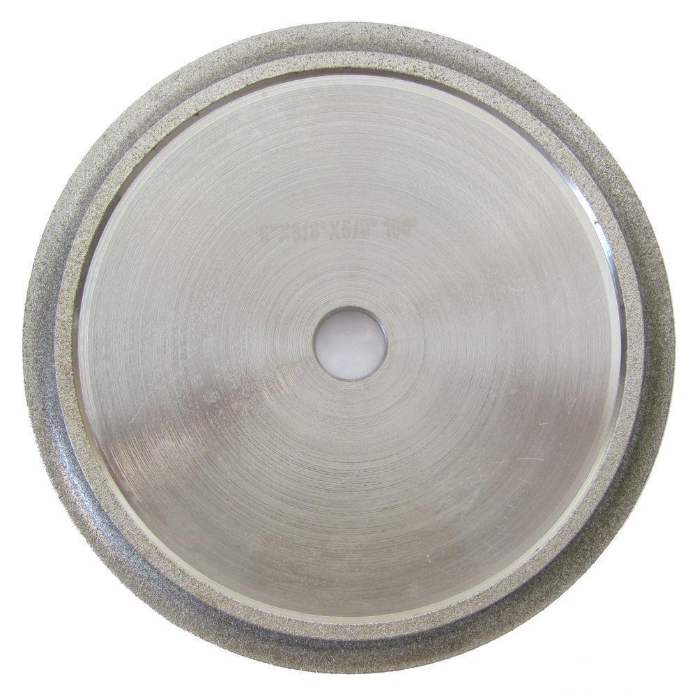 6 in. x 3/8 in. Demi Bull Nose Profile Wheel for Tile Edge Profiling