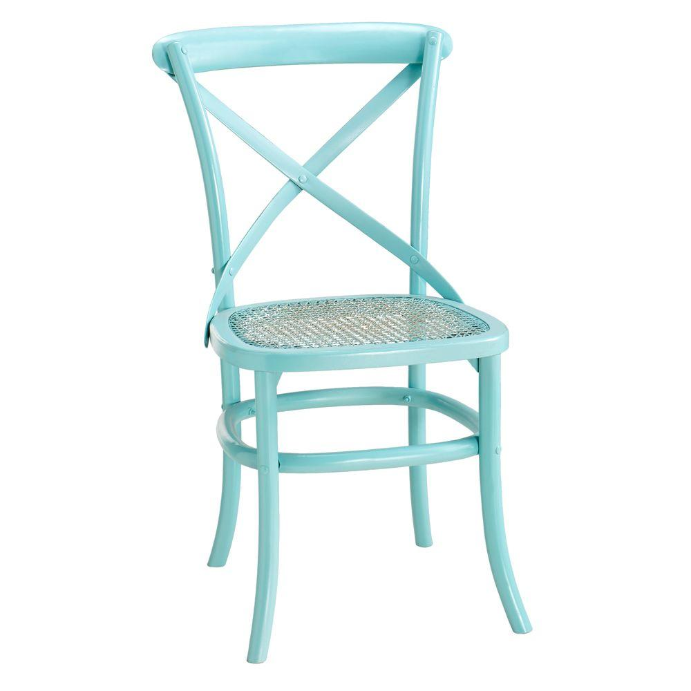 Home Decorators Collection 19.5 in. W Hamilton Sunken Pool Bentwood Chair