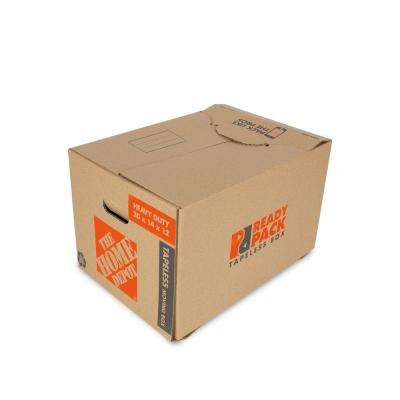 20 in. L x 14 in. W x 12 in. D Heavy-Duty Ready Pack Utility Moving Box with Handles