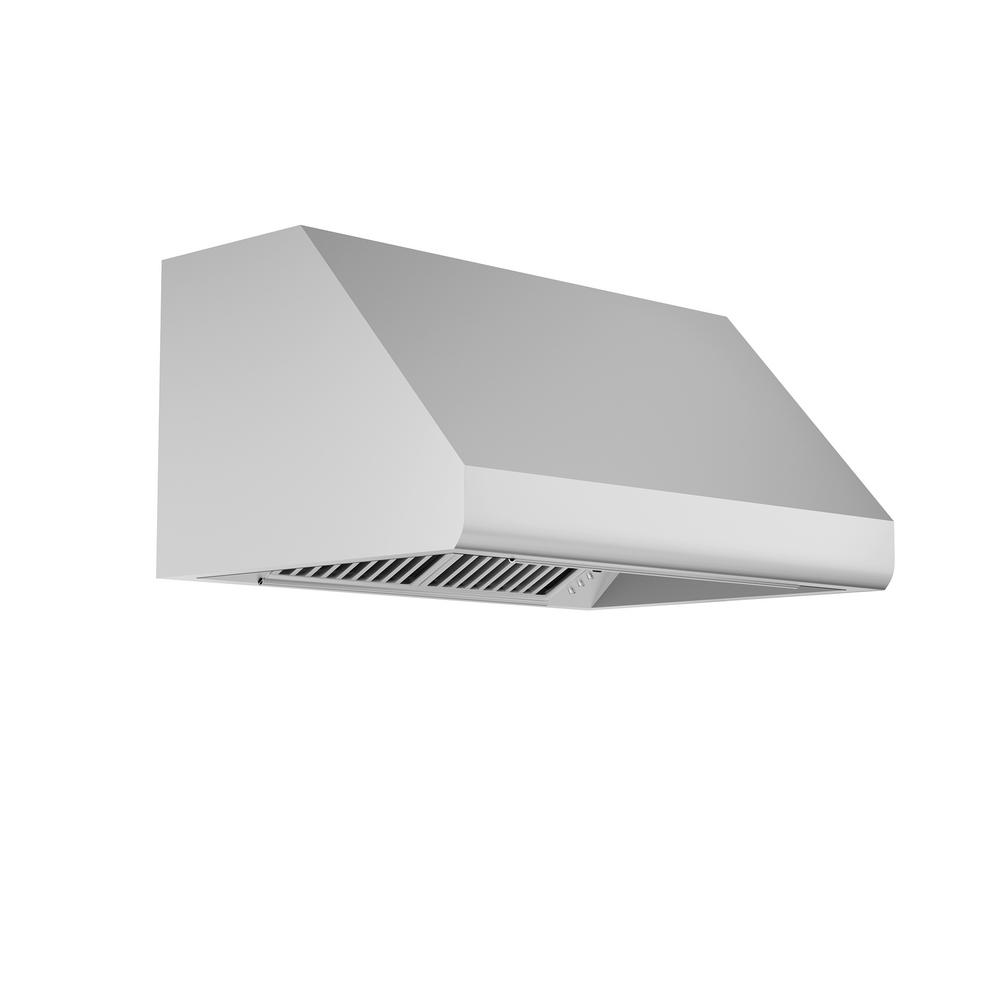 Zline Kitchen And Bath Zline 36 In. 1200 Cfm Outdoor Under Cabinet Range Hood In Stainless Steel, Brushed 430 Stainless Steel