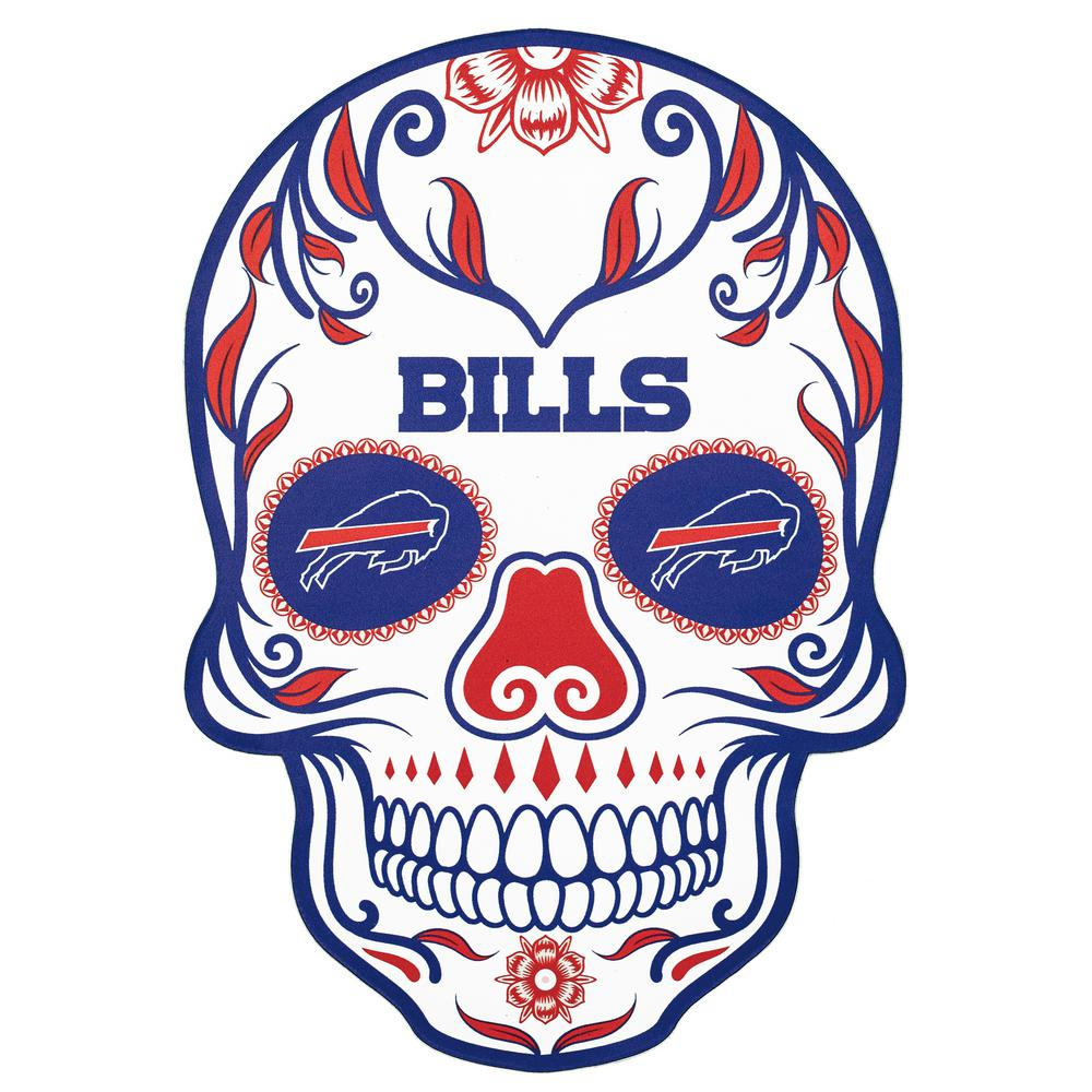 Applied Icon NFL Buffalo Bills Outdoor Skull Graphic- Large-NFOS0403 ... ec296d525