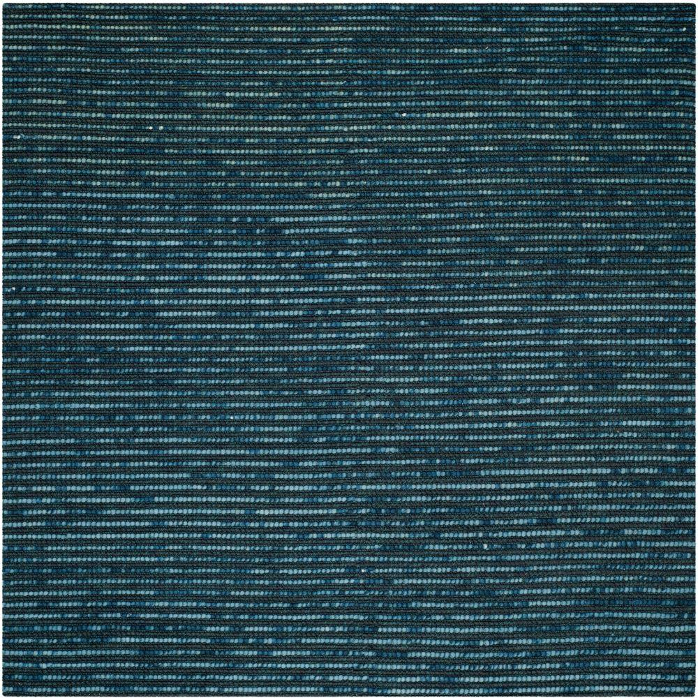 Bohemian Dark Blue/Multi 4 ft. x 4 ft. Square Area Rug